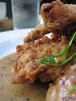 Chicken-fried steak courtesy of Serpentine