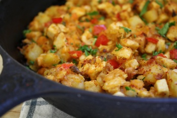 Turkey Hash: A Black Friday Breakfast | Food for the Thoughtless by ...